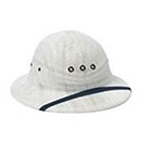 Sun Helmet with Woven Mesh for Letter Carriers and Motor Veh