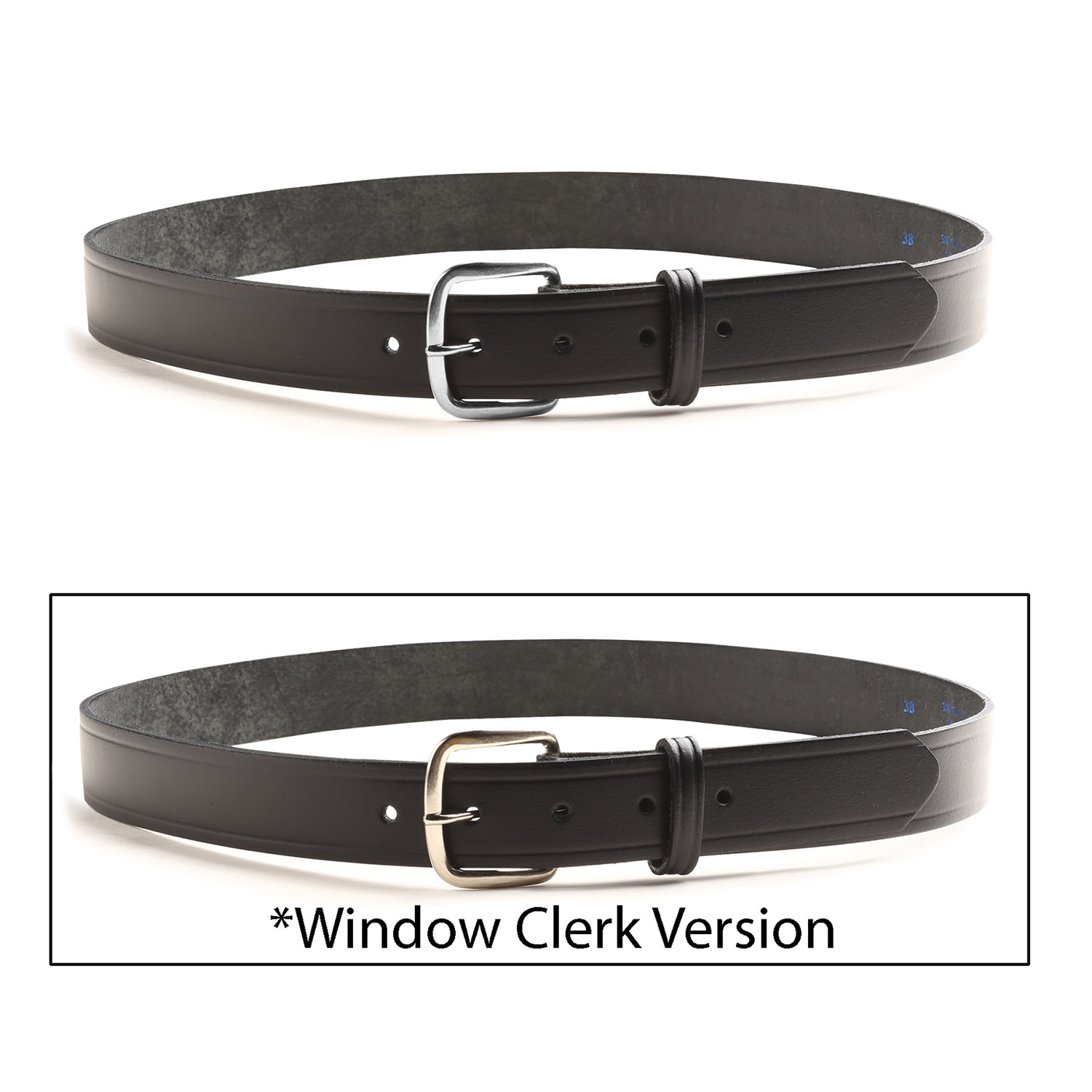 black leather belt 1 1 4 quot wide