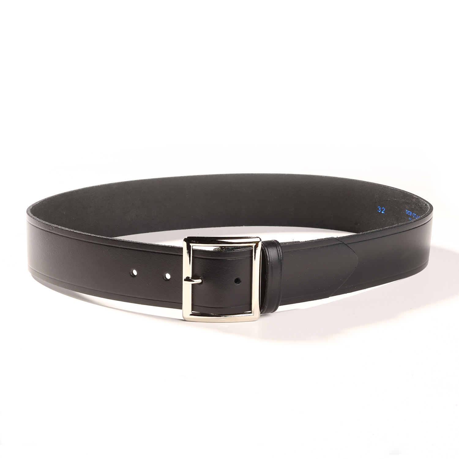 black leather belt 1 3 4 quot wide
