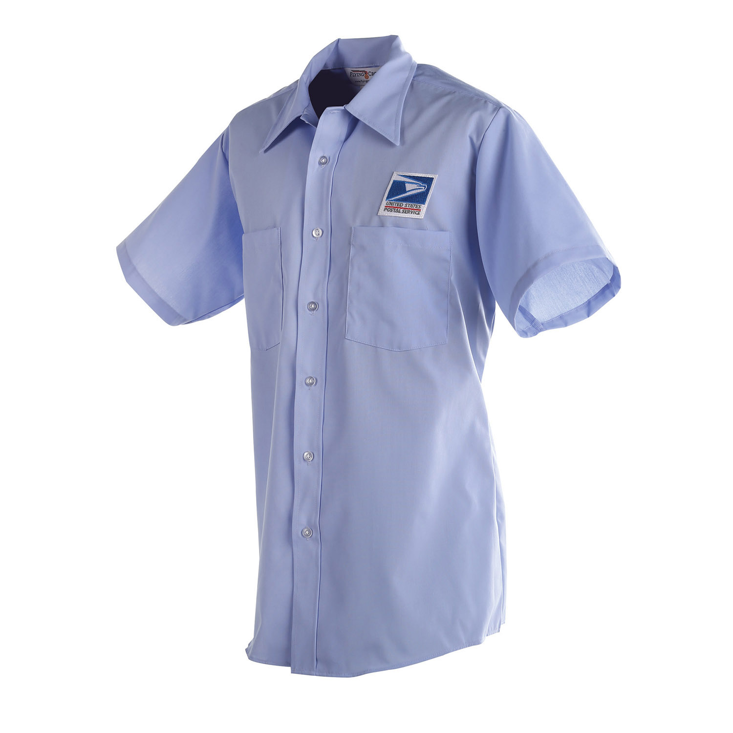 Postal Uniform Shirt Mens Short Sleeve For Letter Carrier
