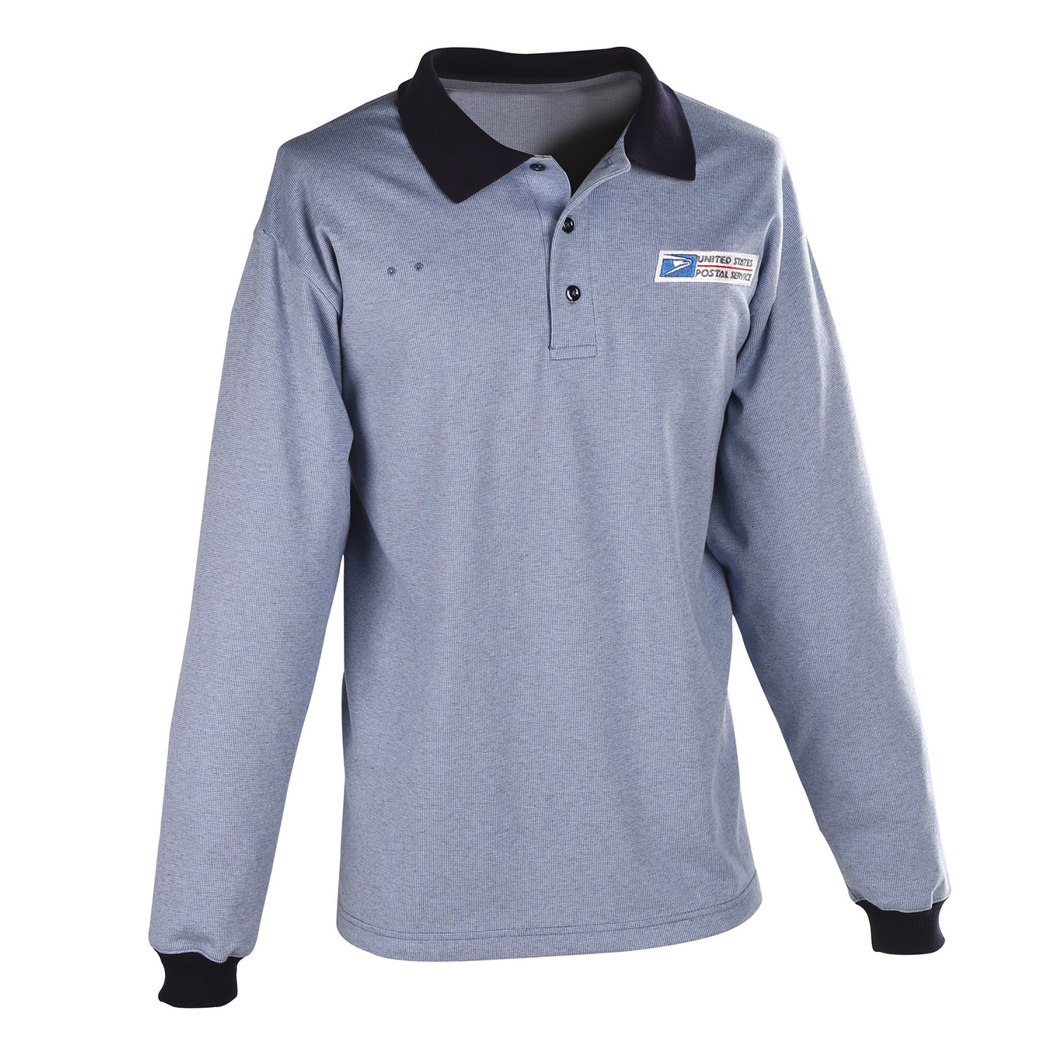 Postal Uniform Shirt Womens Polo Long Sleeve For Window C