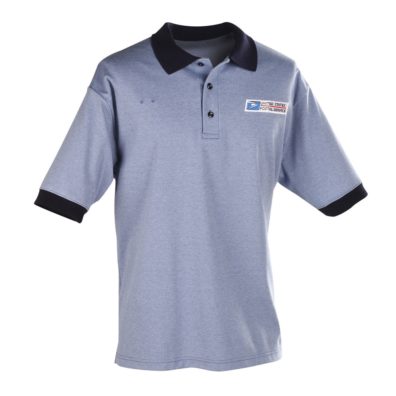 Postal Uniform Shirt Mens Polo Short Sleeve For Window Cl